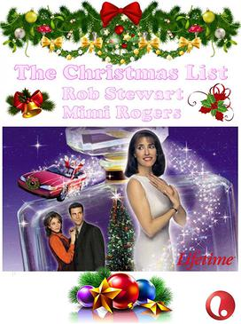 The Christmas List Mimi Rogers 2020 The Christmas List   Wikipedia