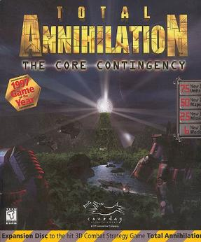 total annihilation the core contingency wikipedia