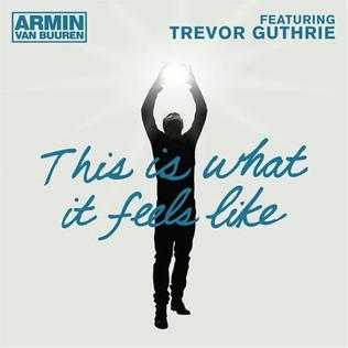 Armin van Buuren featuring Trevor Guthrie — This Is What It Feels Like (studio acapella)
