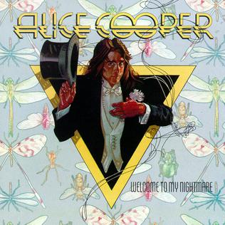<i>Welcome to My Nightmare</i> 1975 studio album by Alice Cooper