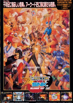 Capcom vs. SNK: Millennium Fight 2000 - Wikipedia