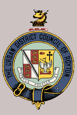 The Coat Of Arms Former Royton Urban District Council