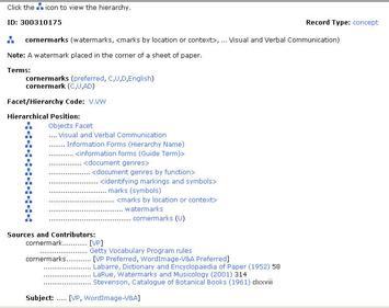 Sample AAT Record