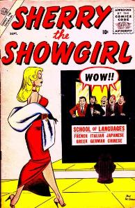 Sherry the Showgirl #2 (Sept. 1956). Cover art...