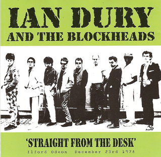 <i>Straight from the Desk</i> 2001 live album by Ian Dury & the Blockheads