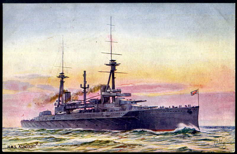 HMS Agincourt.