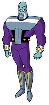 Brainiac as he appears in the DC animated universe.