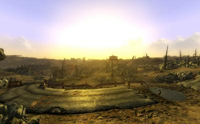 The desolate area of the Capital Wasteland, where Fallout 3 takes place Fallout3Explore.jpg