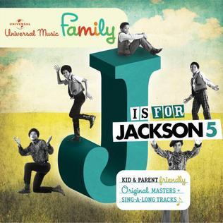 J is for Jackson 5 artwork