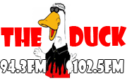 KDUC & KDUQ 94.3 & 102.5 The Duck logo.png