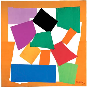 Henri Matisse, The Snail, 1953, Gouache on pap...