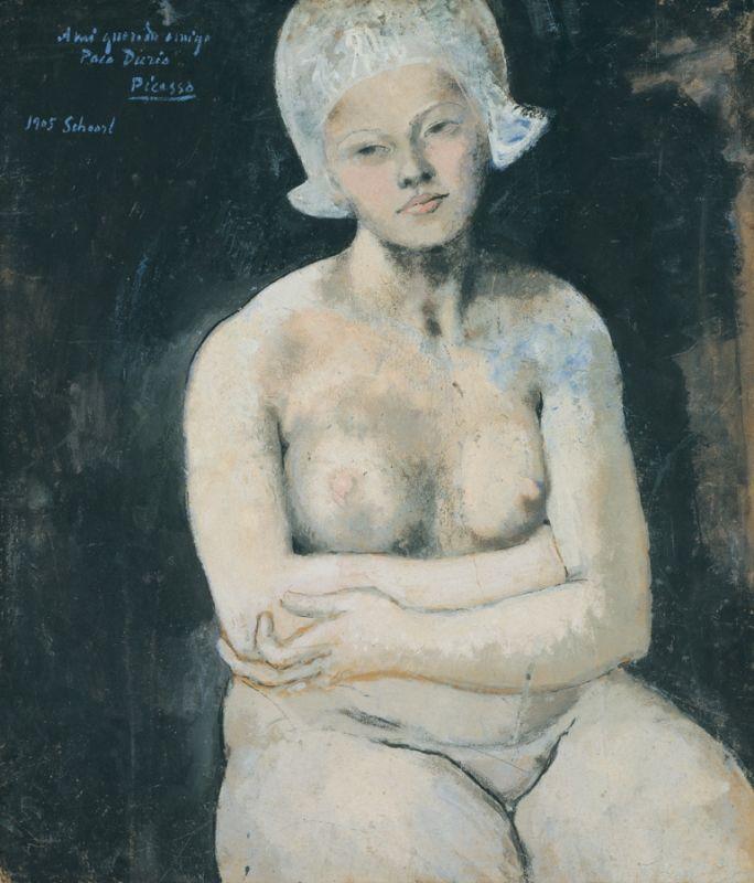 Pablo Picasso, La belle Hollandaise