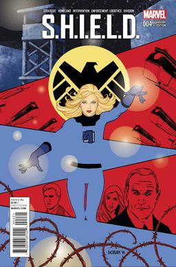 S.H.I.E.L.D. #4 variant cover. An example of Colleen Doran's art for Marvel Comics SHIELD 4 variant cover.jpg