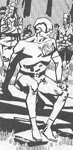 Streamline drawn by Steve Yeowell in 1989, as he appeared in the 2000AD strip Zenith.