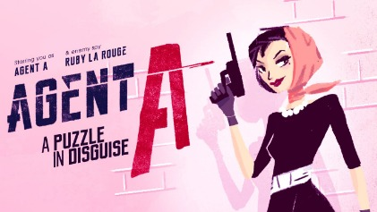 Picture of a game: Agent A: A Puzzle In Disguise