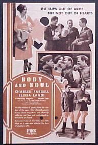 <i>Body and Soul</i> (1931 film) 1931 film