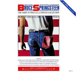 """<i>The Born in the U.S.A. 12"""" Single Collection</i> 1985 box set by Bruce Springsteen and the E Street Band"""