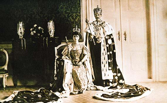 Coronation of Their Majesties King Haakon VII and Queen Maud