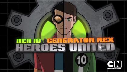 generator rex and ben 10 heroes united