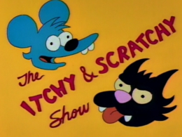 <i>The Itchy & Scratchy Show</i> Fictional TV show on The Simpsons