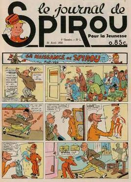 Spirou magazine wikipedia - Magazine le journal de la maison ...