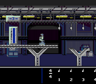 "A screenshot of the ""Robo Man"" game activity in the Miracle system software."