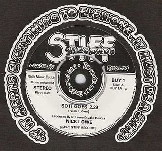 So It Goes (song) 1976 single by Nick Lowe