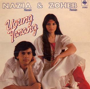 <i>Young Tarang</i> 1983 studio album by Nazia and Zoheb