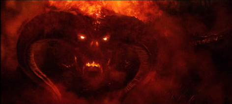 Lord of The Rings Balrog Drawing The Balrog as Seen in The