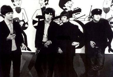 A banda e sua versão animada