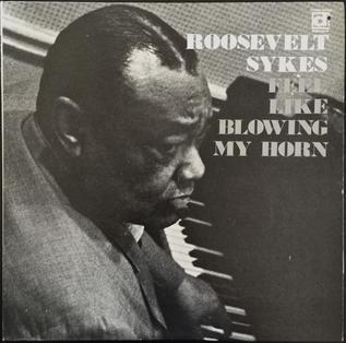 <i>Feel Like Blowing My Horn</i> 1973 studio album by Roosevelt Sykes