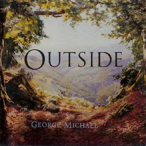 Imagem da capa da música Outside de George Michael