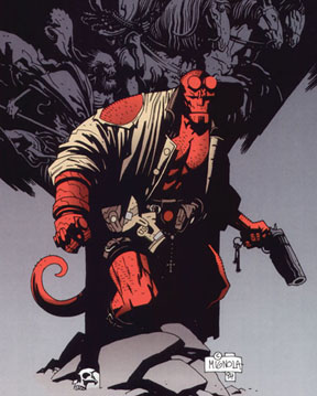 Picture of a book: Hellboy