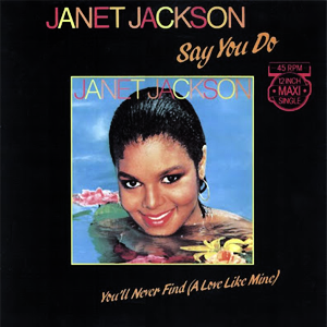 Say You Do Janet Jackson Song Wikipedia