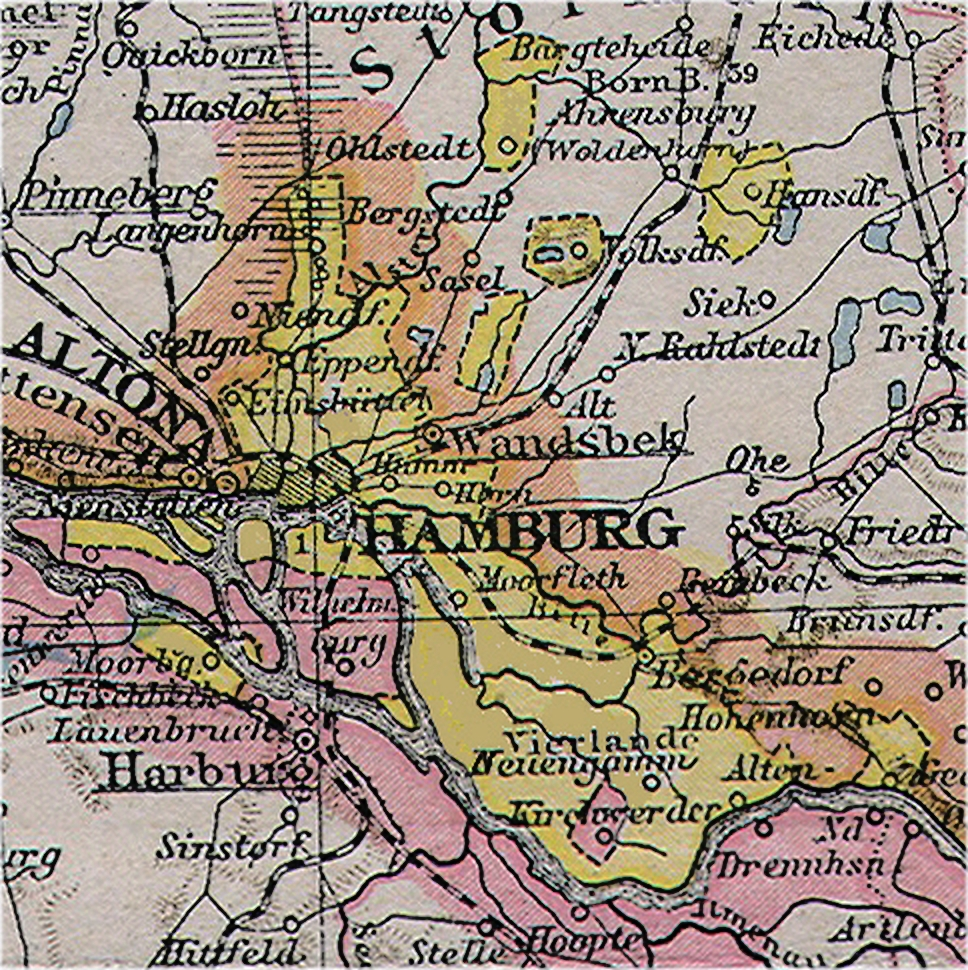 map of hamburg germany pdf