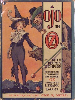 Cover of Ojo in Oz.