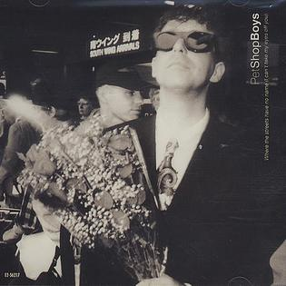 Where the Streets Have No Name (I Cant Take My Eyes off You) 1991 single by Pet Shop Boys