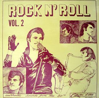 <i>Rock n Roll Volume 2.</i> 1973 studio album by Gene Summers