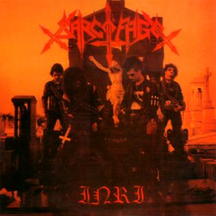 <i>I.N.R.I.</i> (Sarcófago album) 1987 studio album by Sarcófago