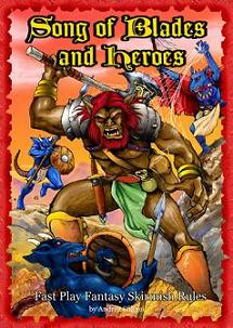 Song of Blades and Heroes 4th edition Cover