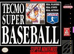 <i>Tecmo Super Baseball</i> 1994 baseball video game