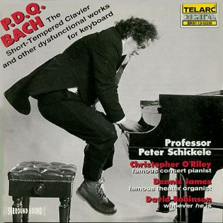 <i>The Short-Tempered Clavier and other dysfunctional works for keyboard</i> 1995 studio album by P. D. Q. Bach