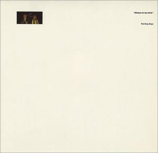 Pet Shop Boys: Always On My Mind