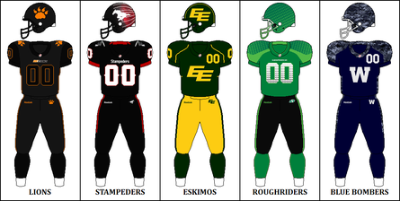 West Division Signature Uniforms CFL Signature West Jerseys 2014.png