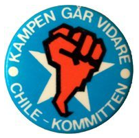 Chilekommittén Swedish organization, mobilizing support to opponents of Pinochet regime in Chile