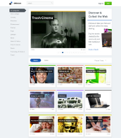 The Delicious homepage in 2011