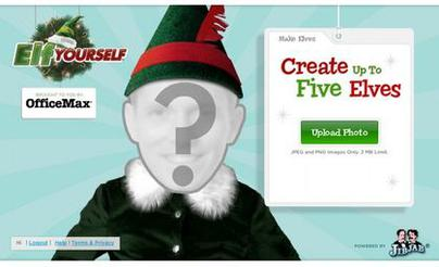 graphic relating to Elf Yourself Printable identify Elf On your own - Wikipedia