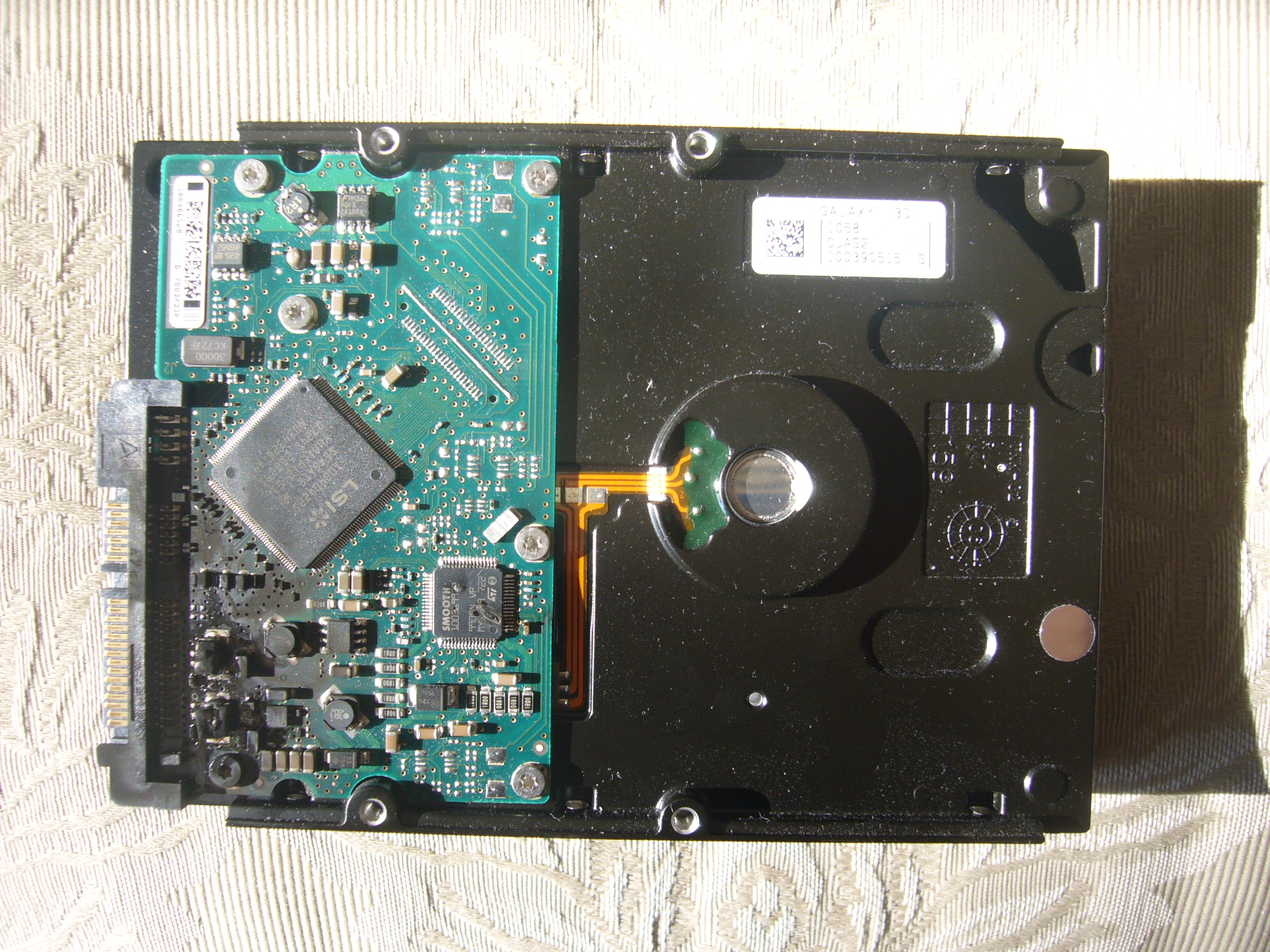 Data Recovery Wikipedia Hard Drive Circuit Board Pcb Hardware Repairedit