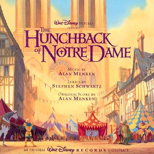 <i>The Hunchback of Notre Dame</i> (soundtrack) 1996 soundtrack album by Various artists