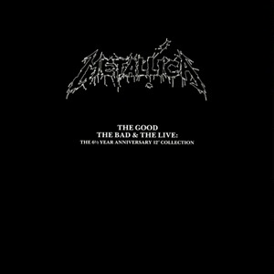 <i>The Good, the Bad & the Live</i> 1990 box set by Metallica
